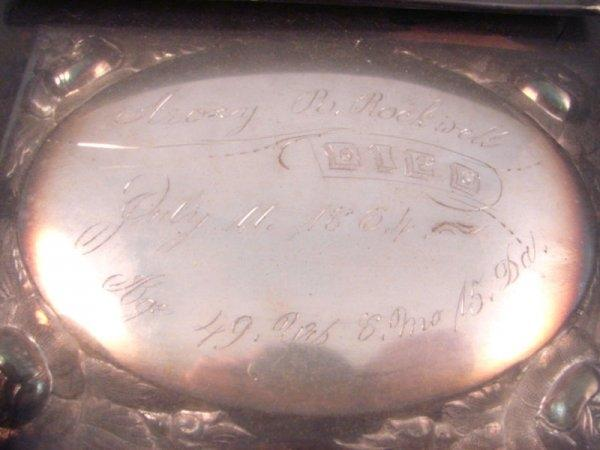 The Free Genealogy Death Record on the Coffin Plate of Rockwell genealogy