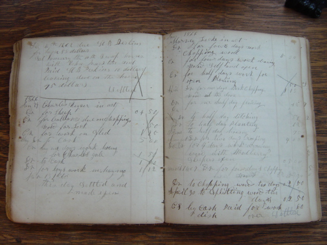 General William A Petrikin Store Ledger Book, Muncy, Lycoming County, PA