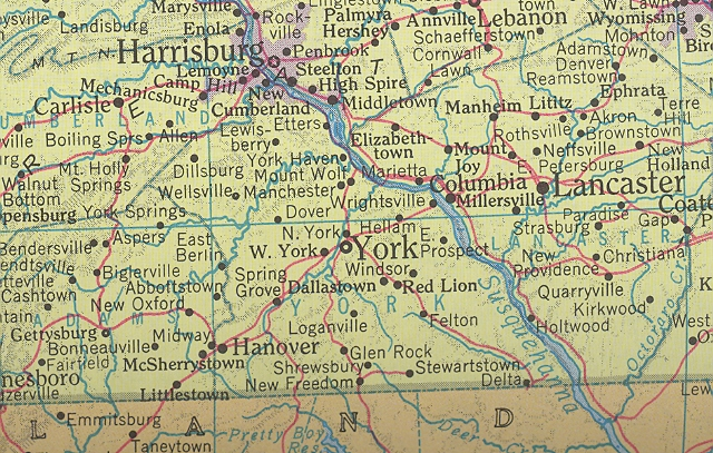 York County Map