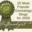 Olive Tree Genealogy Blog 1 of Top 25 Blogs