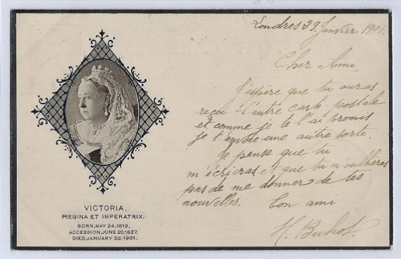 Queen Victoria Death Record