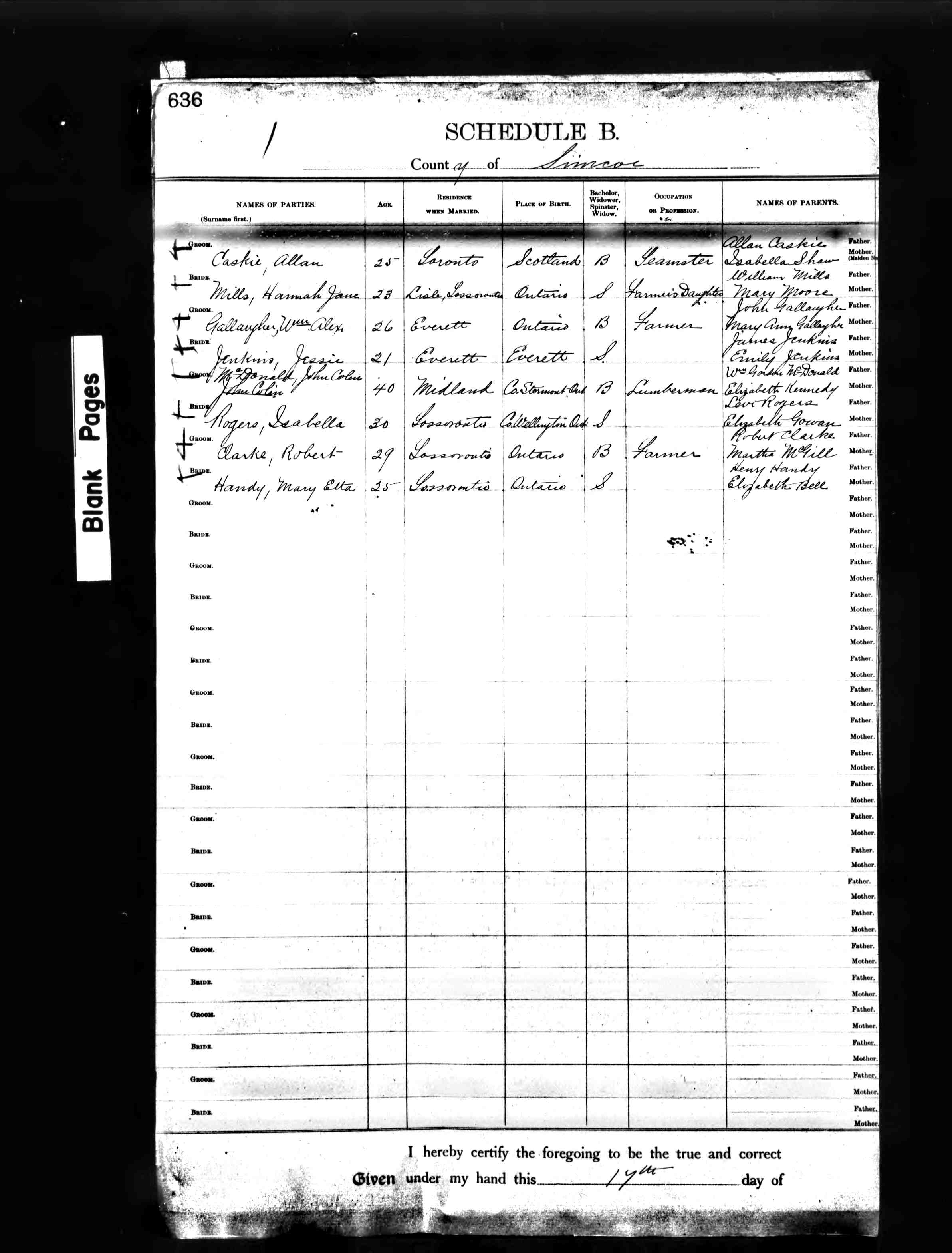 Find Death Records for simcoe county on Ancestors at Rest